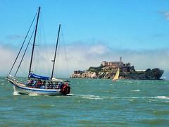 Escape from Alcatraz(1/2) (PURIFM) Tags: alcatraz san francisco island water californ