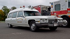 Vintage Cadillac ambulance (SchuminWeb) Tags: schuminweb ben schumin web october 2017 maryland md montgomery village county montgomeryvillage public safety training academy open house publicsafetytrainingacademy department police fire rescue vintage emergency vehicle vehicles cadillac ambulance ambulances bethesda chevychase chevy chase squad inc rs 15 lights siren sirens light car cars bccrs