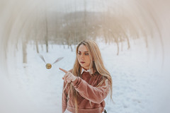 I open... (yleniamiller1) Tags: harrypotter magic conceptual conceptualphotography goldensnitch golden snitch harry potter