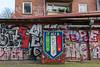 IT ALI A (Rasande Tyskar) Tags: graffiti graffity graffito house exteriour hamburg gebäude facade fassade urban art st pauli schanze pipes röhre lüftung