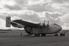 XL149. Royal Air Force Blackburn Beverley C.1 (Ayronautica) Tags: ayronautica aviation scanned turnhouse egph airshow military raf september 1958 blackburnbeverleyc1 royalairforce xl149
