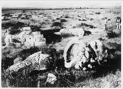 Ο Λέοντας της Χαιρώνειας πριν την αναστήλωση (Giannis Giannakitsas) Tags: greece grece griechenland χαιρωνεια chaironia λεων χαιρωνειασ λεοντασ lion chaeronea