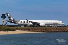 F-WLXV Airbus A35K 34L YSSY-4919 (A u s s i e P o m m) Tags: airbus a35k a3501000 syd yssy sydneyairport aib359 a350xwbtour