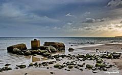 Ostsee (garzer06) Tags: ostsee deutschland wolken strand sand steine mecklenburgvorpommern sellin landschaftsfoto landscapephotography inselrügen landschaftsbild insel strandsand rügen naturphoto landscapephoto landschaftsfotografie naturfoto nnaturfotografie