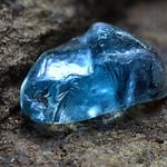 Blue Zircon Crystal Macro thumbnail
