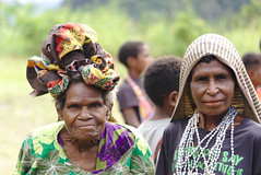 Two ladies (eomer1) Tags: papua new guinea scripture celebration people