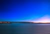 POLARIS & SUNRISE (Dominique Richeux Photography) Tags: antibes waterscape water landscape seascape sea ocean mer ciel étoiles étoile trail trails star startrails