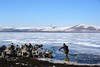 Shovelling away the ice on Lake Cildir (CharlesFred) Tags: ardahan snow kars neige sneeuw neve ghiaccio ijs ice