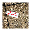 6 of Diamonds...... (PAUL YORKE-DUNNE) Tags: cards playing floor paving stone diamonds torn half quirky abstract sonyilce6300 e18200mm f3563ossle sonya6300