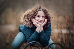 In anticipation of winter (Unicorn.mod) Tags: colors portrait autumn canonautumn girl women park canoneos6d samyang85mmf14asifumc samyang myfocus samyang85 smooth manual manuallens manualshooting diamondclassphotographer flickrdiamond