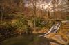 Un rincón en el bosque. (Amparo Hervella) Tags: elarenal ávila españa spain río cascada nube largaexposición d7000 nikon nikond7000 comunidadespañola naturaleza color