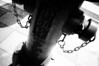 Chained (emulsivefilm) Tags: 2018january 35mmformatfilm blackandwhitenegativefilm ei100 emulsivedailyphoto fuji fujineopanss iso100
