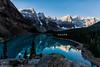 D67_6148 (brook1979) Tags: 加拿大 洛磯山 夢連湖 山 湖 湖水 雪 morainelake moraine canada mountian water snow