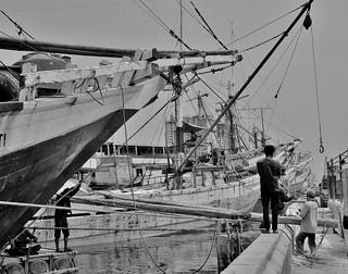 Indonesien, JAVA , Jakarta - Frachtenseglerhafen  Sunda Kelapa , 17028/9480