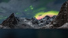 roja (el_farero) Tags: lofoten northern lights aurora mountains night nightscape norway farero seascape green