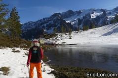 Corsica frozen lake Asco (39) (Eric Lon) Tags: corsica corse france island ile mountains montagne meretmontagne mareimonti pine pin laricio neige snow lac lake bath bain ice glace trek trekking ericlon