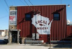 Kettle Range Meat Company - Milwaukee, Wisconsin (Cragin Spring) Tags: wisconsin wi midwest unitedstates usa unitedstatesofamerica snow city urban building milwaukee milwaukeewi milwaukeewisconsin meat butcher kettlerange kettlerangemeatcompany