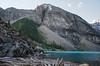 Moraine Morning DSL3708 (iloleo) Tags: banffnationalpark morainelake landscape mountains nature summer canada nikond7000 alberta