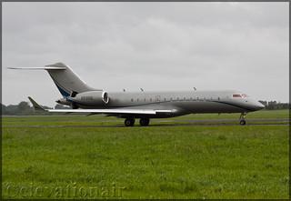 N595E Bombardier BD-700-1A10 Global Express