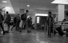 1er street photography (Alaric31620) Tags: street photography om10 zuiko 14 olympus toulouse gare matabiau 50mm ilford fp4 125 nb blackwhite