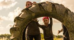Pushing a giant tractor tire. (Alex-de-Haas) Tags: 70200mm bootcamprun d750 dutch dutchies geestmerambacht holland langedijk nederland nederlands nikkor nikon noordholland bootcamp candid conquering dirt dirty endurance evenement event familie family fit fitdutchies fitness fun hardlopen joggen jogging mensen modder mud obstacle obstakel overwinnen people plezier recreatie recreation rennen renner renners run runner runners running sport sportief sportiviteit sporty summer team teamspirit teamgeest vies volharding zomer