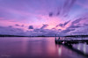 Pink Boom (Crouchy69) Tags: sunset dusk landscape seascape ocean sea water coast clouds ferry wharf jetty pier long exposure greenwich point sydney australia