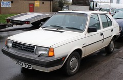 D723 YDX (5) (Nivek.Old.Gold) Tags: 1986 volvo 340 gl 17 5door ariesgarage rushmere ipswich