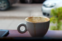 alone (amuna_caty) Tags: cup coffee coffeecup white clean photo photography photograph photographer canon cafe nice picture inspire