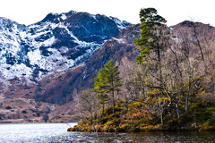 Loch Katrine (picsbyCaroline) Tags: landscape mountain water loch lake mountainside scotland winter cold colour distance hills scenery scenic