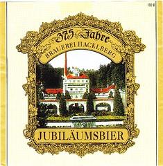 IMG_00ca03 (cigpack.at) Tags: brauerei hacklberg passau jubiläumsbier 375 jahre anniversary deutschland germany bier beer brewery label etikett bierflasche bieretikett flaschenetikett