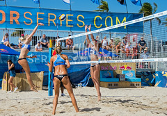 Match 53: Round of 24: USA vs. Russia (cmfgu) Tags: craigfildesfineartamericacom fédérationinternationaledevolleyball internationalfederationofvolleyball fivb swatchfivbbeachvolleyballmajorseries worldtour fortlauderdale ftlauderdale browardcounty florida fl usa unitedstatesofamerica beach volleyball tournament professional sun sand tan athlete athletics ball net court set match game sports outdoors ocean palmtrees women woman bikini rus russia россия kellyclaes anastasiavasinabarsuk evgeniyaukolova olympian
