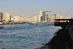 Dubái Creek (Ana De Haro) Tags: dubái dubáicreek eau emiratos mar puerto harbor