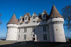 Monbazillac castle : Nikon D810 : Nikkor 24 mm F2.8 (Benjamin Ballande) Tags: monbazillac castle nikon d810 nikkor 24 mm f28