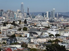 San Francisco, CA, Cityscape from Noe Valley Overlook (Mary Warren 13.5+ Million Views) Tags: sanfranciscoca noevalley landscape cityscape architecture building city urban