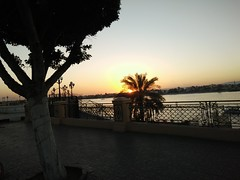 (nanisalleh) Tags: river nile rivernile sunset silhouette trees