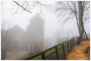 Brume sur le château