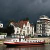 Nantes, France (pom.angers) Tags: canoneos400ddigital july 2012 nantes erdre river boat péniche sky loireatlantique 44 france europeanunion paysdelaloire 100 200 300