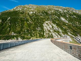 RHE093 Santa Maria Arch Dam (1968), Medel, Grisons, Switzerland