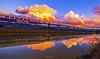 Convergence (GeorgeTsai 168) Tags: train reflection burning