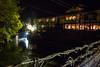 Ryokan in Yunishigawa, Nikko - Japan (Marconerix) Tags: ryokan nikko giappone japan hotel traditional traditionalhotel albergo pace riposo onsen legno giapponese bridge ponte pontesospeso river fiume lucitenui