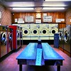 IMG_4816 (Kathi Huidobro) Tags: launderette laundromat london interiors wallpaper retro vintage washing technicolor vivid interiordesign londonbuildings oldlondon washeteria urban urbanspaces unused abandoned afterdark nightlife