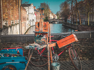 Painterly day in Bruges