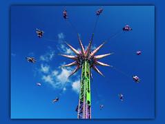 "Skyward roundabout :-: (Darrell Colby "" You Call The Shots "") Tags: skyward roundabout swing swings fun round circle circular londonontario ontario canada westernfair darrellcolby"