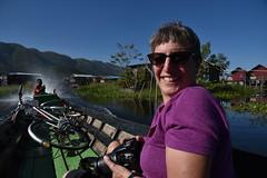 DSC_7038 (Kent MacElwee) Tags: myanmar burma sea asia southeastasia nyaungshwe inlelake lake freshwaterlake shanstate bike bicycle boat kaungtaingvillage maingthaukvillage