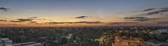 Panoramic Sunset (Wajahat Mahmood) Tags: parramatta west sunset bluehour sydney australia nsw newsouthwales panorama