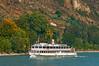 Sightseeing Boat the Wachau (fotofrysk) Tags: sightseeingboatthewachau boat cruise donauriver thedanube river trees green hills easterneuropetrip melkkremscruise austria oesterreich afsnikkor703004556g nikond7100 201709288879