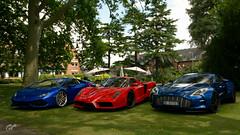  Aston Martin One-77 '11 - Ferrari Enzo '02 - Lamborghini Huracán LP 610-4 '15 @ Inner Hotel Courtyard (Bomba_Mat) Tags: granturismosport gtsport gts ps4 ps4pro  aston martin one77 ferrari enzo lamborghini huracán lp 6104 inner hotel courtyard stratforduponavon uk bombasquadracorse