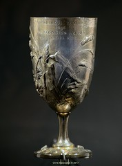 Spyros Louis's Bréal cup (Chris Maroulakis) Tags: athens spiroslouis olympicgames 1896 marathon breal cup museum nikond7000 snfcc chris maroulakis 2017 silver