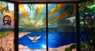 Chapel window, North West Regional Hospital, Burnie