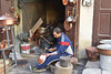 Making Copper Vessels in the Souk, Fes 2 (meg21210) Tags: souk medina fes morocco vendor metalware copper feselbali containers pots